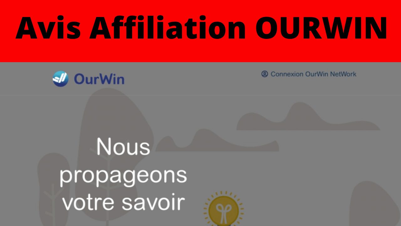 plateforme affiliation Ourwin